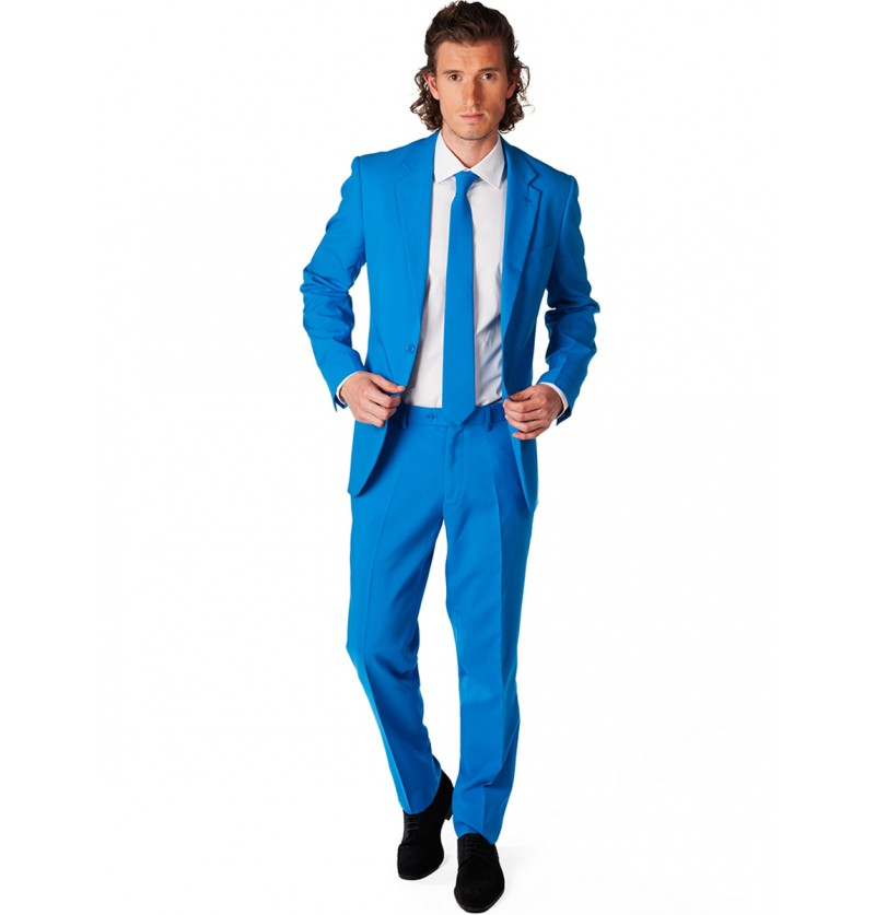 Traje Blue Steel Opposuit