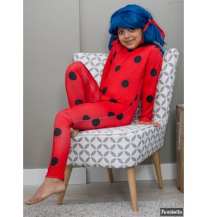 disfraz de ladybug para nia