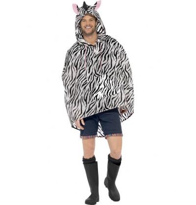 Party Poncho Cebra