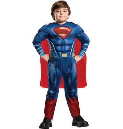 disfraz de superman batman vs superman para nio en caja