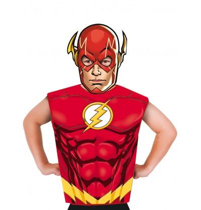 kit disfraz de flash econmico para nio