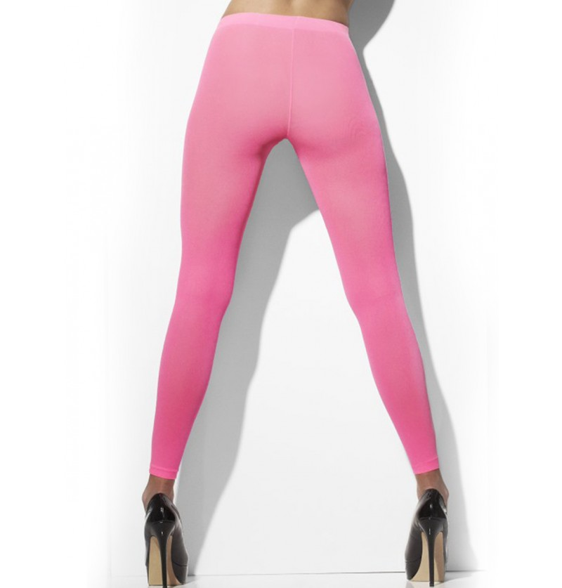 Leggings rosa neón