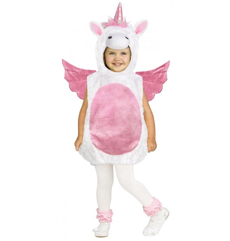Disfraz de unicornio volador para bebé