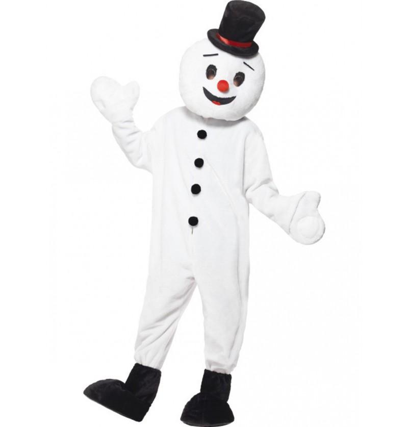 Disfraz de muñeco de nieve supreme para adulto