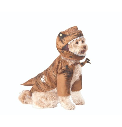 disfraz de tiranosaurio rex para perro jurassic world