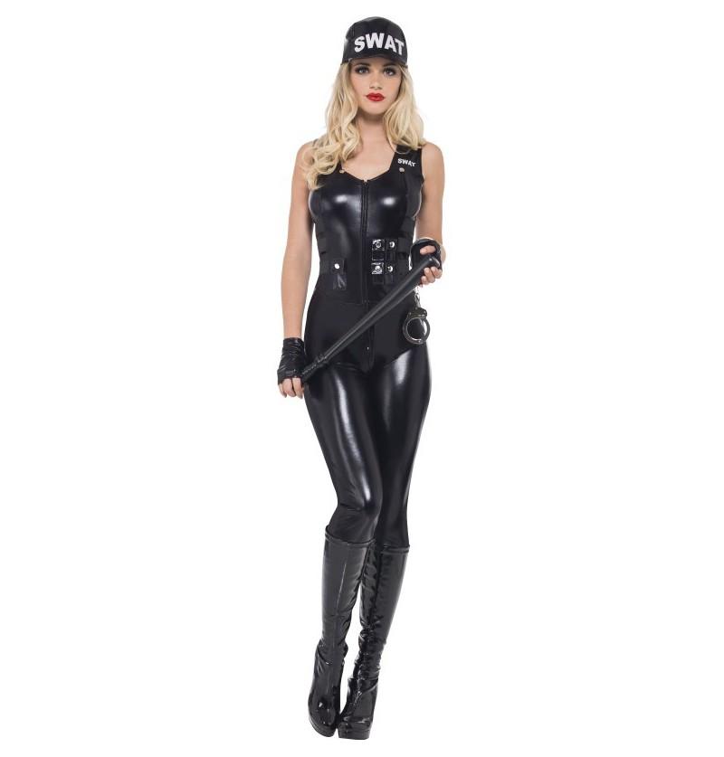 Disfraz de policía SWAT Fever para mujer