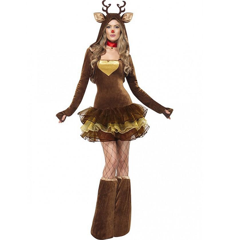 Disfraz de Rudolf Fever para mujer