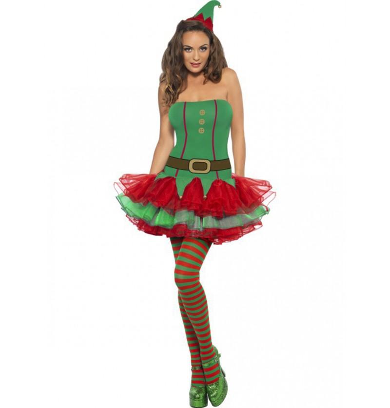 Disfraz de elfa Fever para mujer
