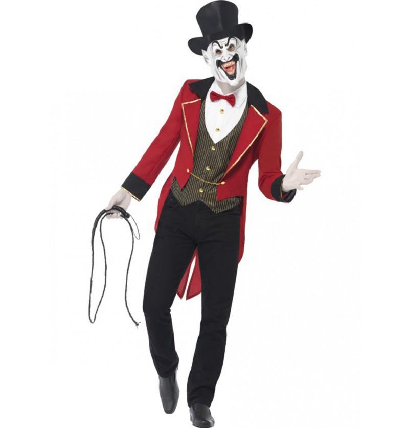 Disfraz de domador tenebroso para hombre