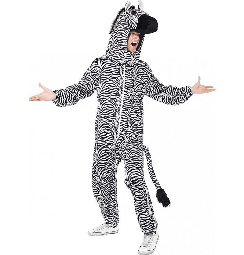 Disfraz de cebra para adulto