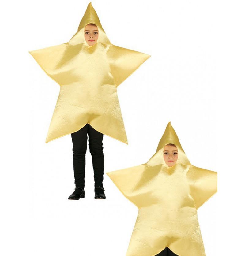 Disfraz de estrella de Navidad para niño