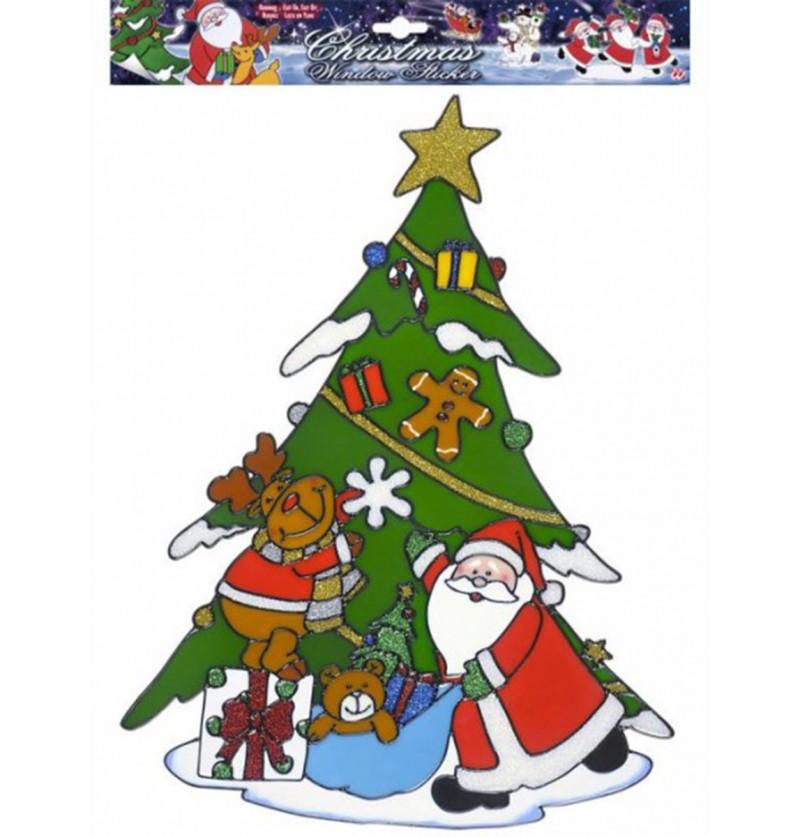 Pegatina para ventana árbol de Navidad