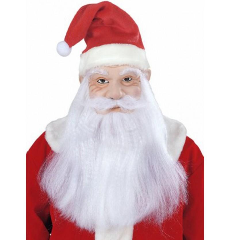 Máscara de Papá Noel