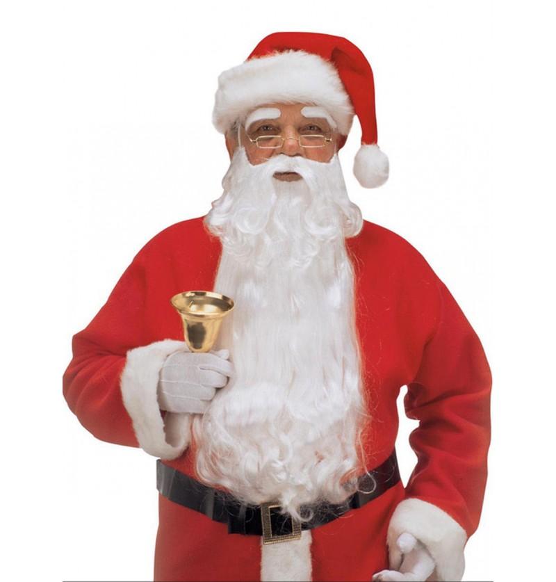 Maxi barba con cejas de Papá Noel