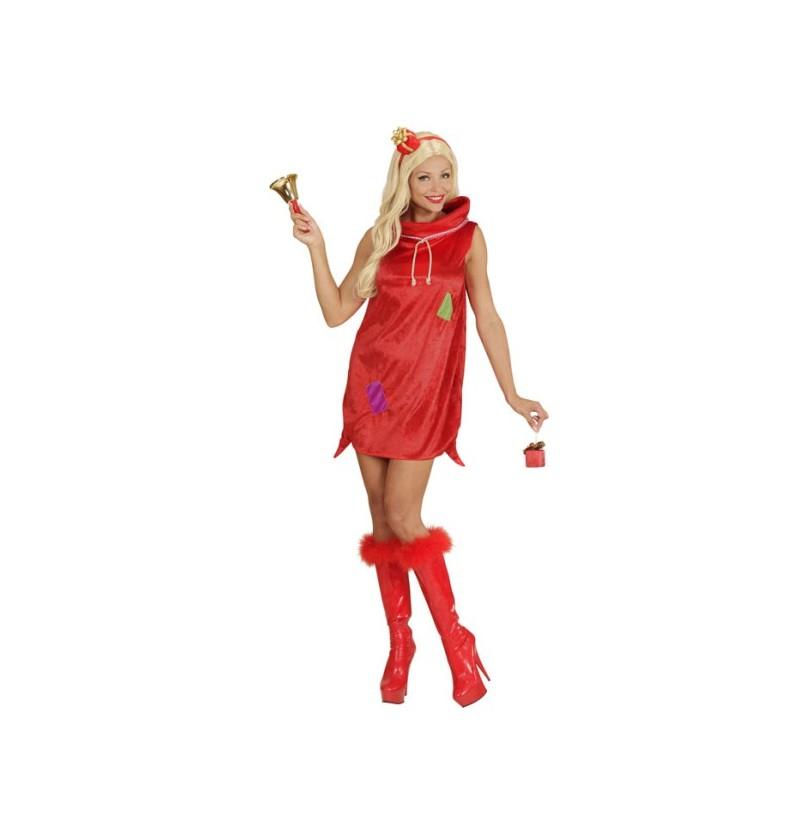 Disfraz de saco de Papá Noel sexy
