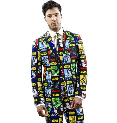 traje strong force opposuit star wars para hombre