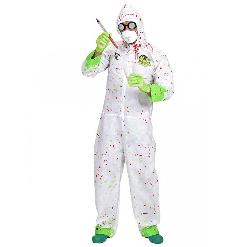 Disfraz de científico tóxico
