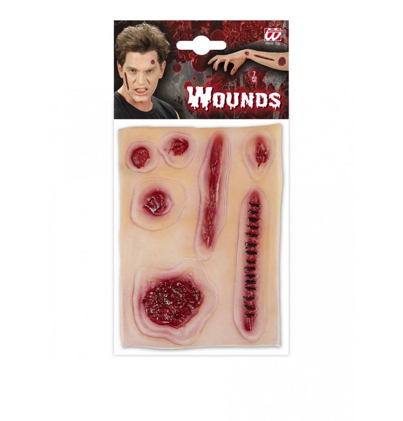 Set de heridas infectadas