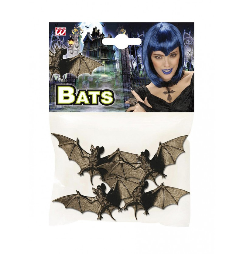 Set de 4 murciélagos nocturnos