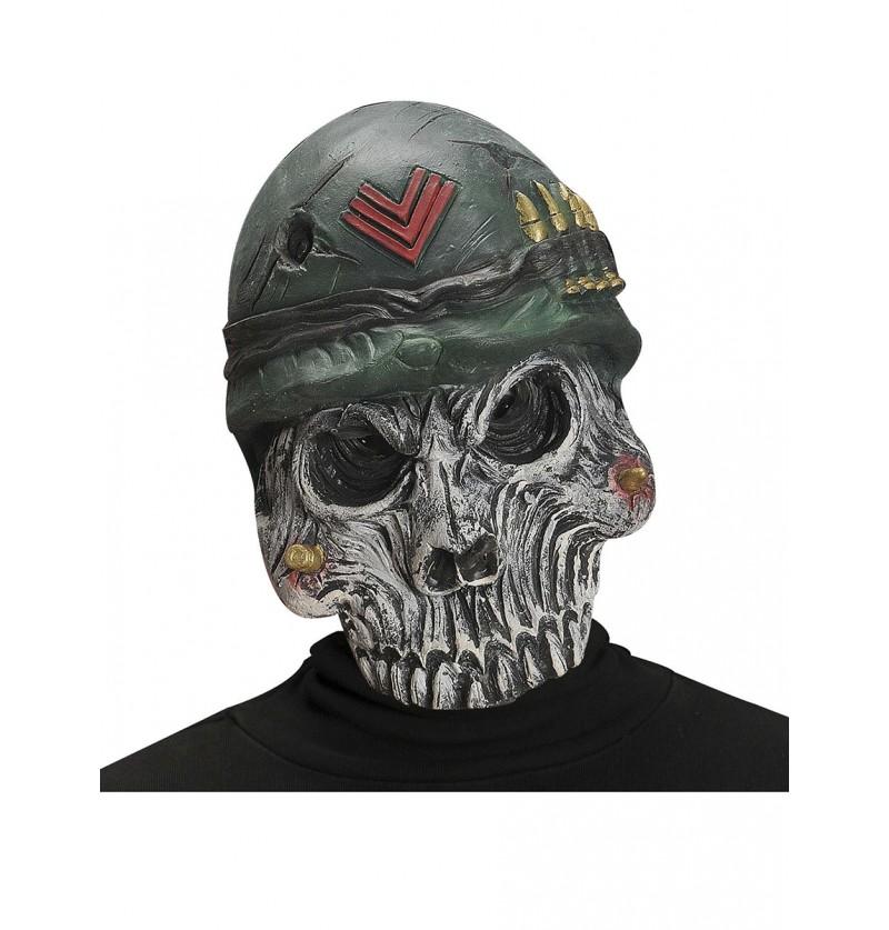 Máscara de calavera del ejército