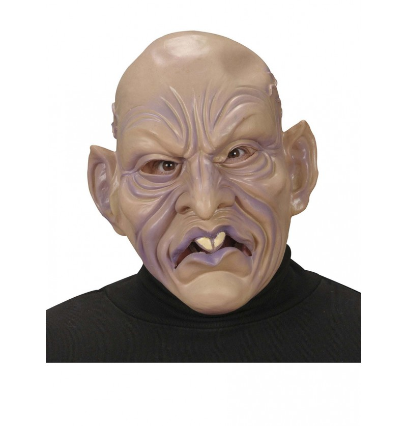 Máscara de vampiro calvo
