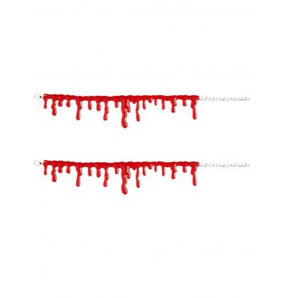 Pulseras de sangre gota a gota