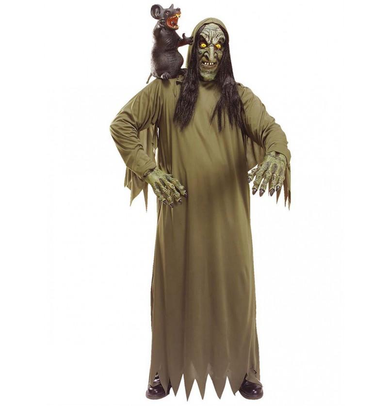 Disfraz de bruja desencantadora para adulto
