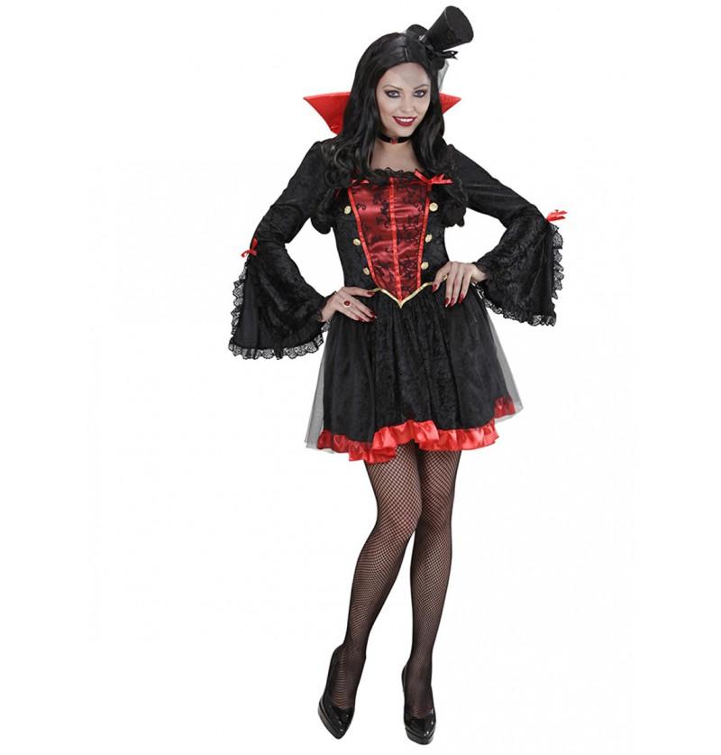Disfraz de condesa de Transilvania para mujer
