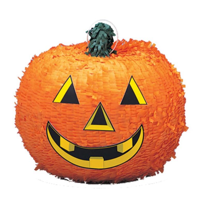 Piñata de calabaza sonriente - Basic Halloween