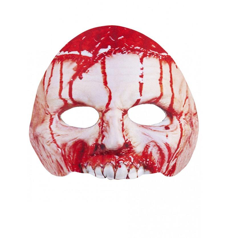 Máscara de asesino sangrante