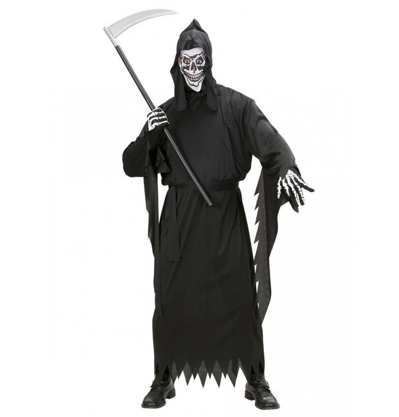 Disfraz de muerte despiadada para hombre