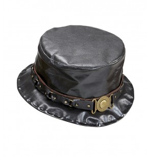 sombrero de copa steampunk para hombre