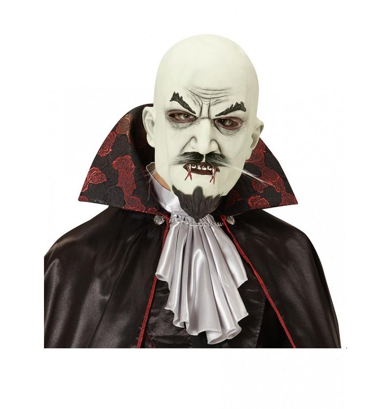Máscara de vampiro bigotudo