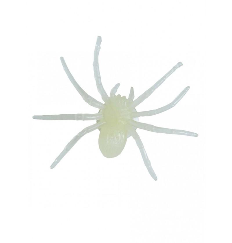 Set de 6 arañas fluorescente con ventosa