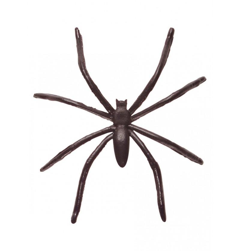 Set de 50 arañas negras