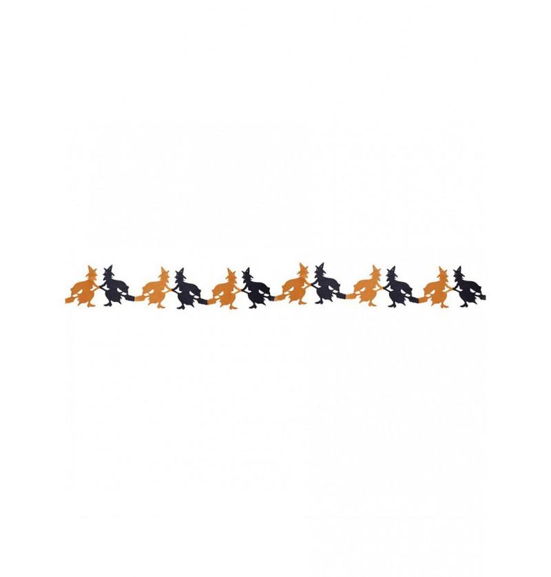 Guirnalda de brujas bicolor