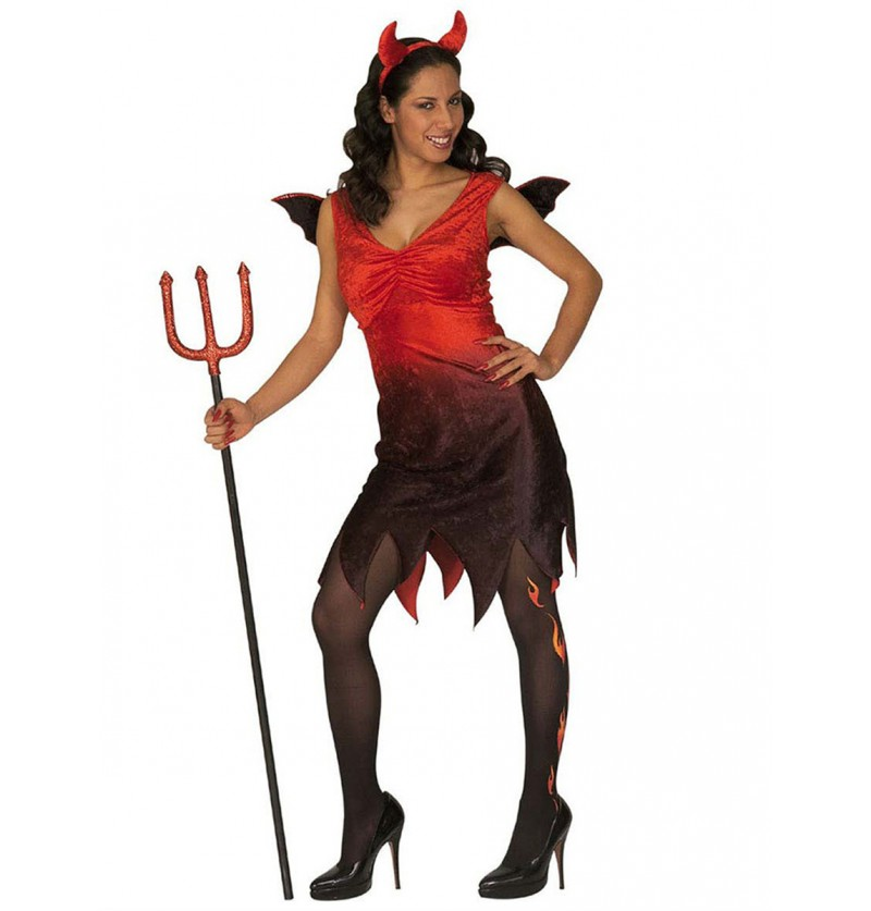 Disfraz de diablesa sexy perversa