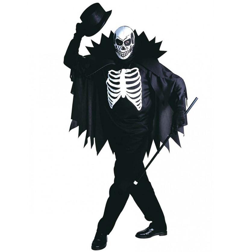 Disfraz de caballero esqueleto