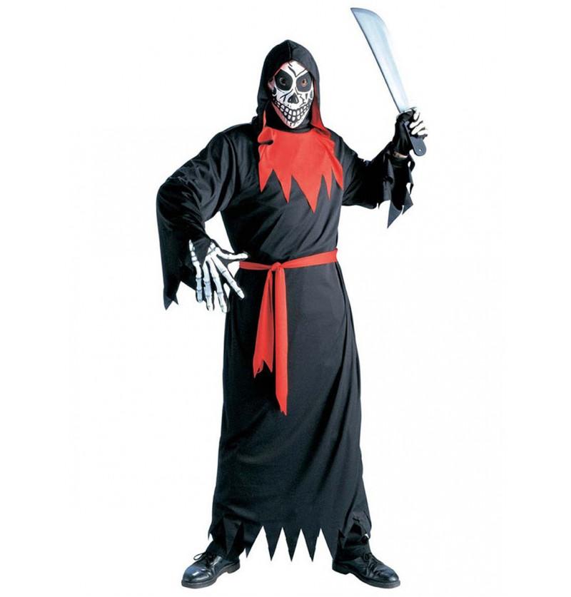 Disfraz de muerte fantasmagórica malvada