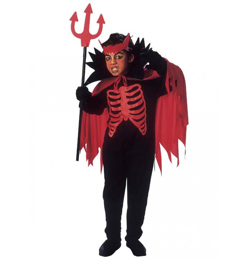 Disfraz de diablo del Inframundo para niño