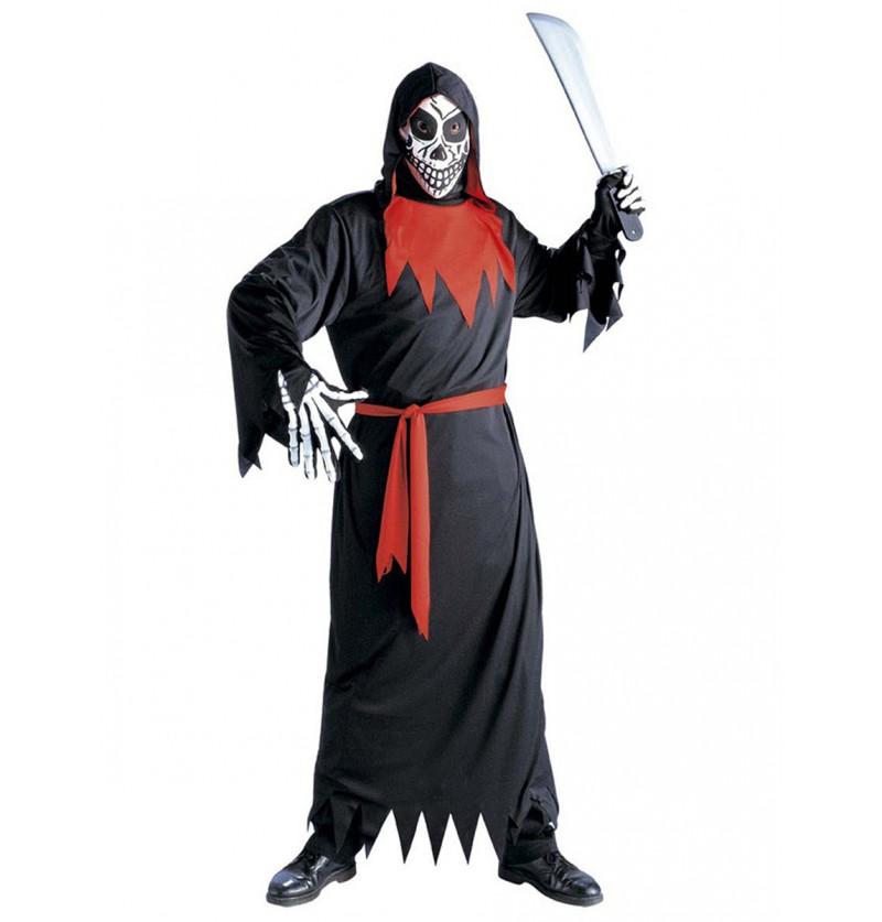 Disfraz de muerte fantasmagórica malvada infantil
