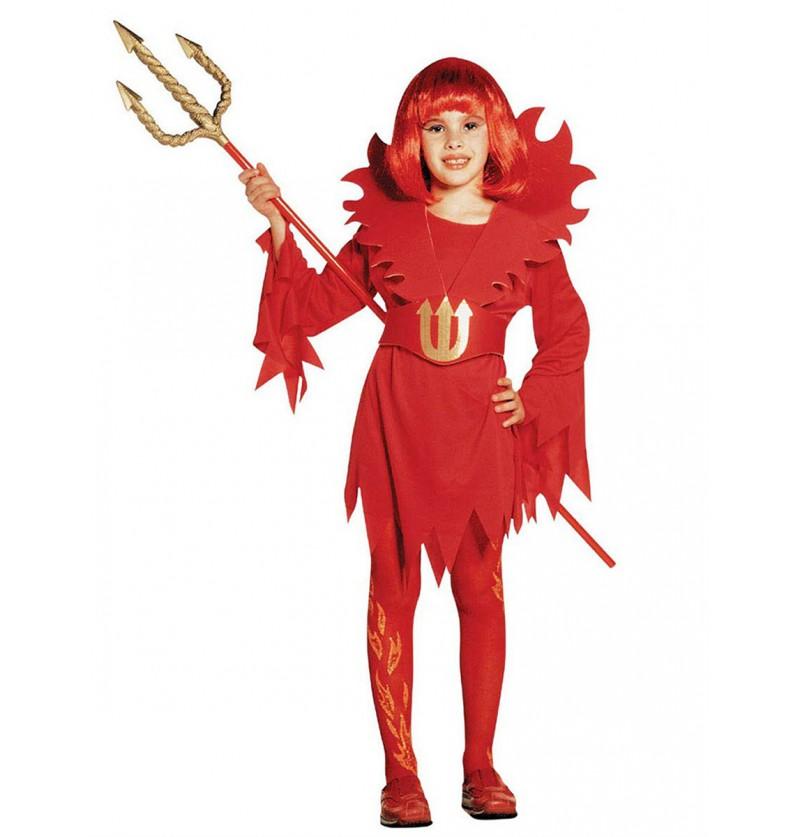 Disfraz de diabla para niña