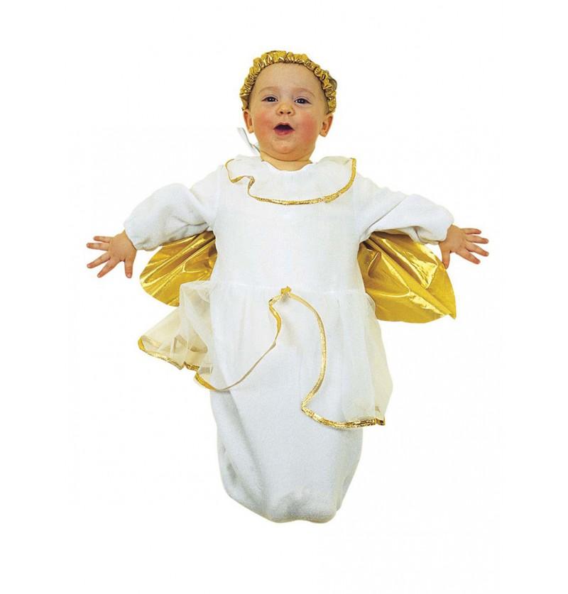 Disfraz de ángel santo para bebé