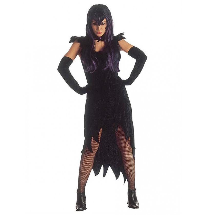 Disfraz de dama de la oscuridad