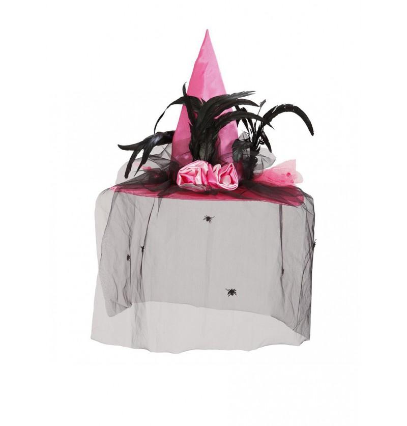 Sombrero de bruja chic