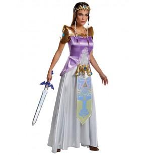 disfraz de zelda deluxe para mujer
