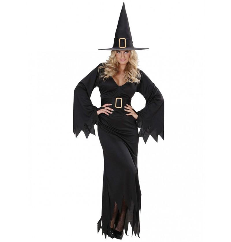 Disfraz de bruja sofisticada para mujer