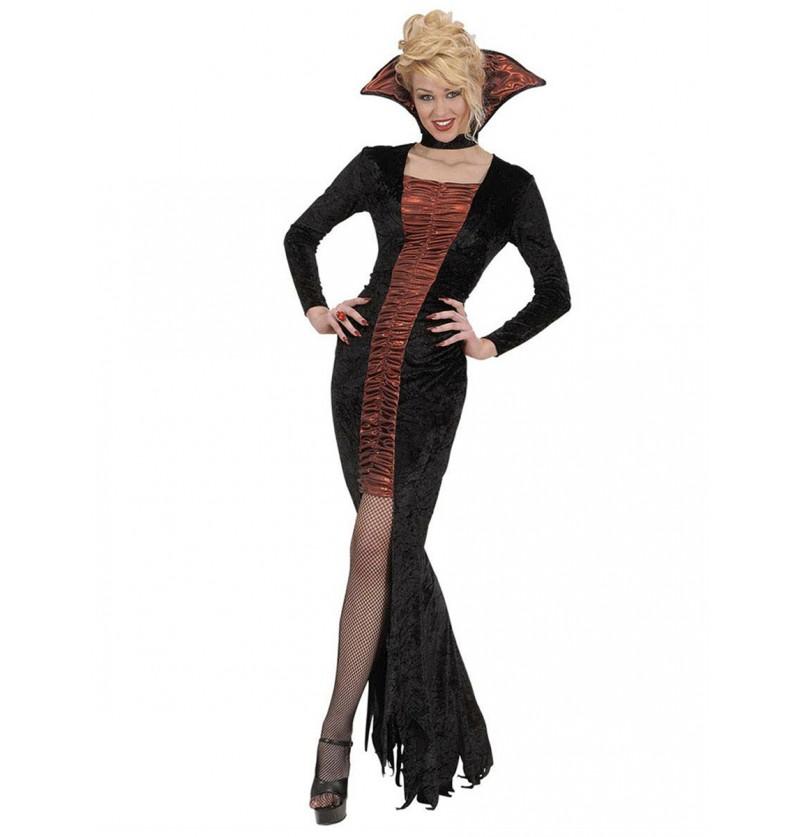 Disfraz de vampiresa sexy y elegante para mujer