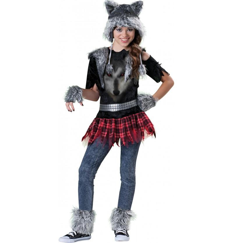 Disfraz de hombre lobo para adolescente