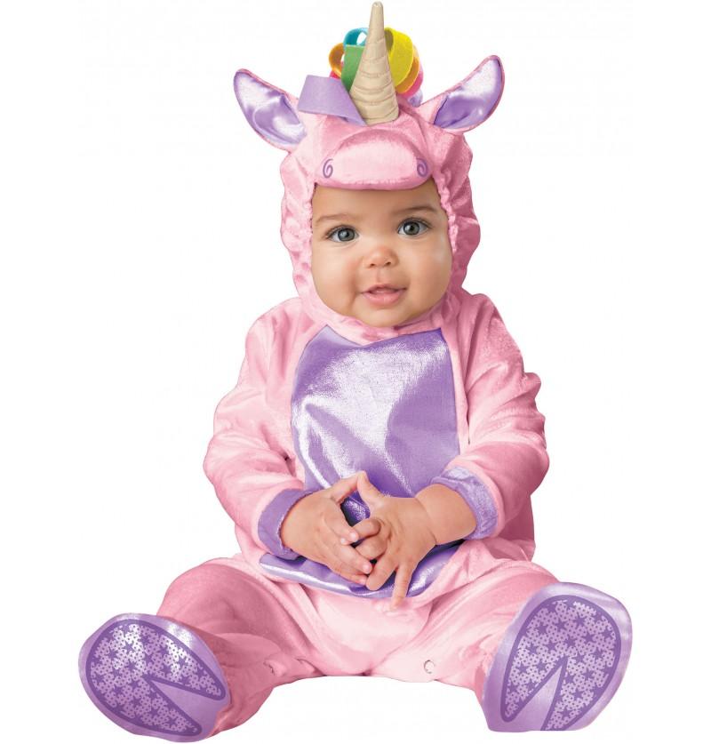 Disfraz de unicornio adorable para bebé